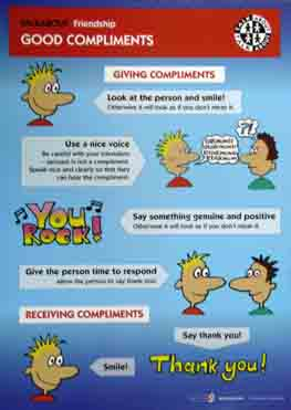 Talkabout Friendship - Giving Compliments